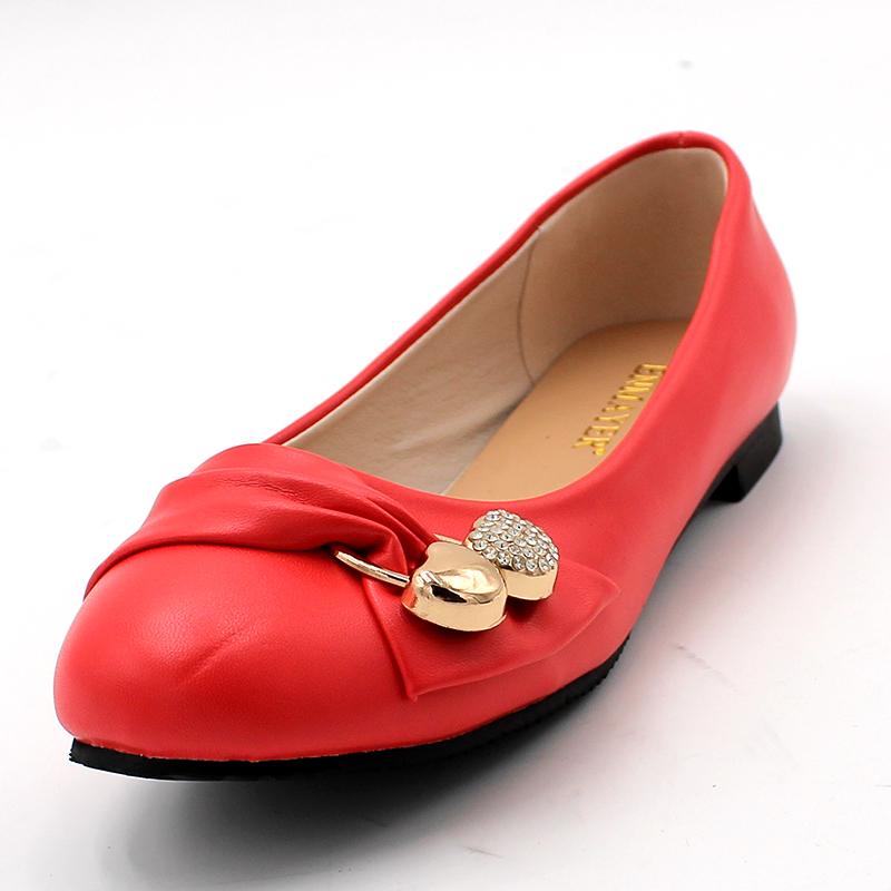 Modischer Damen Ballerina, bequem, flach und elegant. In verschiedenen  Farben erhältlich.