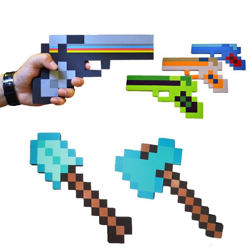Minecraft Schwert Pistole Oder Werkzeug Aus Schaumstoff Phoggle